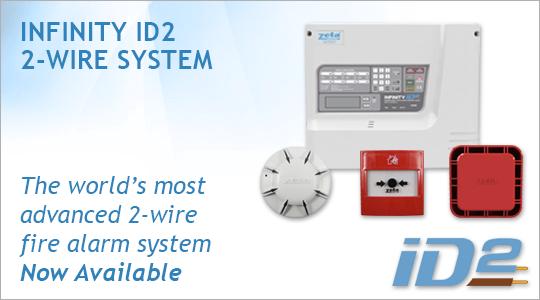 Infinity ID2 2-Wire Fire Alarm System