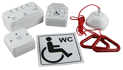 Zeta Disabled Toilet Alarm System