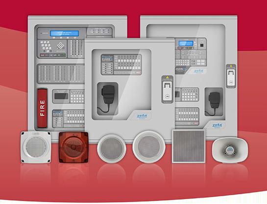 Premier EVACS16 Voice Alarm System