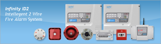 Infinity ID2 Intelligent 2-Wire Fire Alarm System